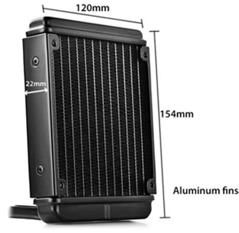 Cooling Fan Deepcool Maelstrom 120t Liquid Cooler Maelstorm 120t deepcool gamer maelstrom 120t liquid cpu cooling system newegg