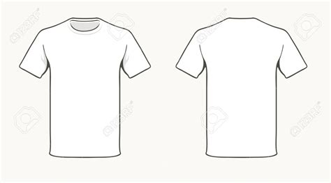 T Shirt Template Vector T Shirt Template