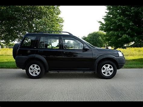 land rover freelander 2003 2003 land rover freelander review