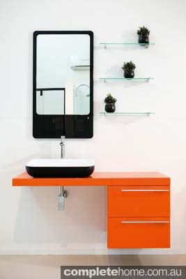 orange and black bathroom italian designer bathrooms without the hefty price tag