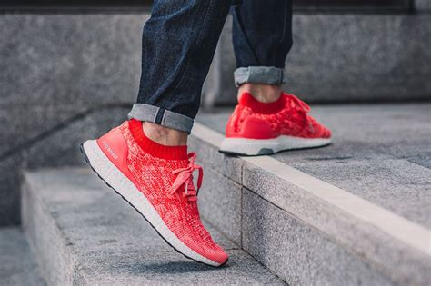 Sneakers Casual Adidas Ultraboost Uncaged Merah on foot adidas ultra boost uncaged quot quot eu kicks sneaker magazine sneakers