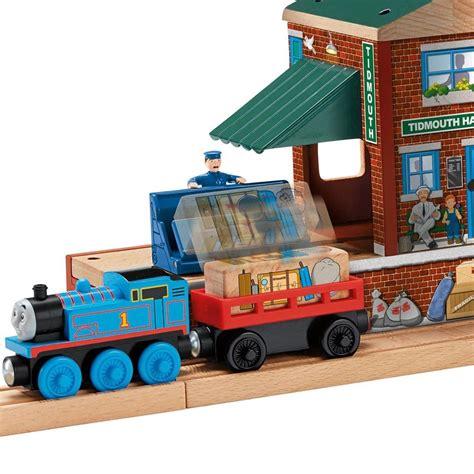 thomas the train l tidmouth train station thomas tank engine wooden railway