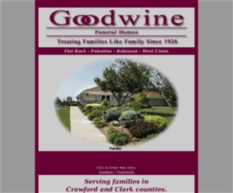 goodwinefuneralhomes goodwine funeral homes in