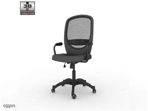 ikea malung swivel armchair ikea vilgot nominell swivel chair 3d model 3d model