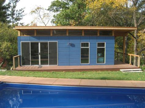 prefabricated pool houses green space living living green in a modern world page 2