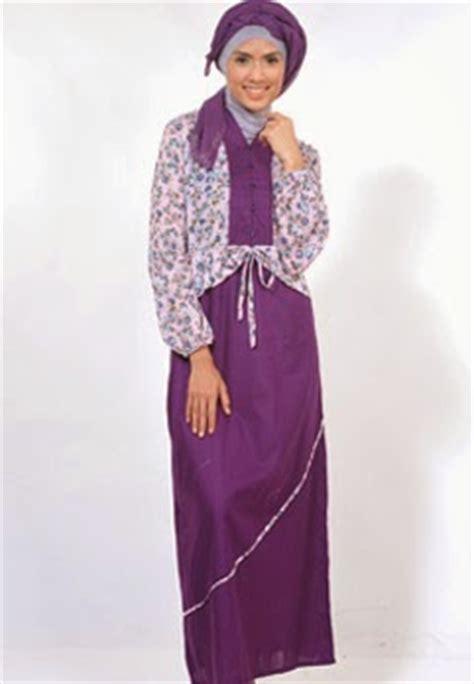 Baju Gamis Sederhana Model Busana Gamis Terbaru Untuk Wanita