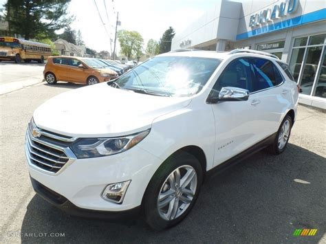 chevrolet equinox white 2018 summit white chevrolet equinox premier awd 120240539