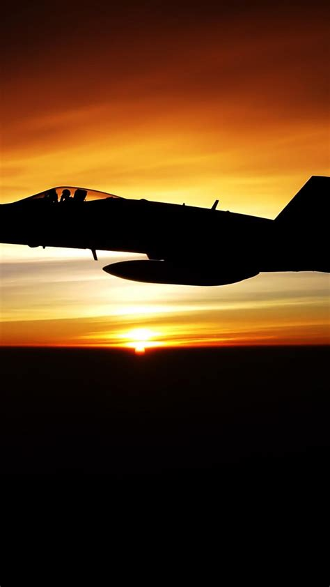 fighter jet sunset wallpaper