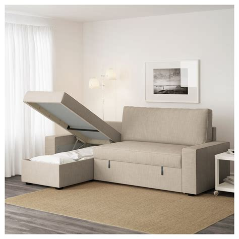 ikea sleeper sofa with chaise vilasund sofa bed with chaise longue hillared beige ikea