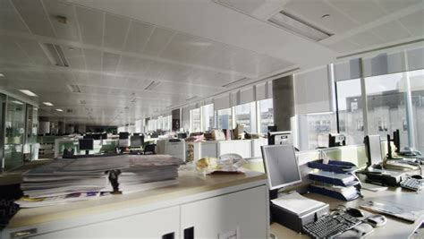 interior view  empty office stock footage video