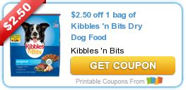 printable coupons and deals kibbles n bits dog food new 2 50 1 kibbles n bits dry dog food printable coupon