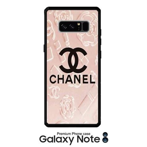 Casing Hp Samsung Galaxy Note 3 Chanel Logo Pink Custom Hardcase samsung note 8 phone story