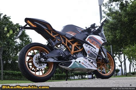 Ktm Johor The Ktm Rc 250 Reviewed In Malaysia