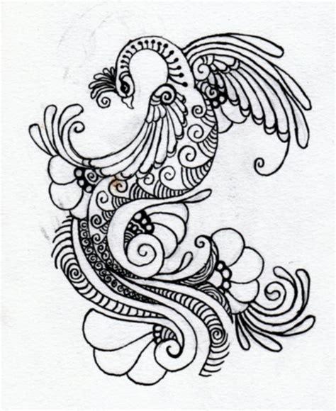henna design sketches drawn mehndi peacock pencil and in color drawn mehndi