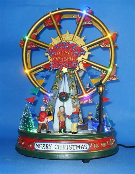 china christmas decor ferris wheels k810004 china