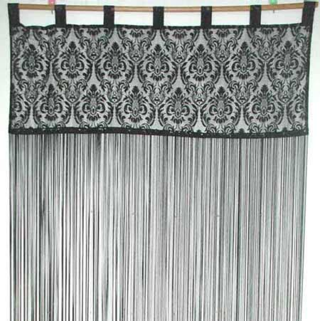 China String Curtain With Baroque Yarn Hr071014 China