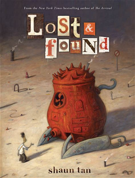the rabbits picture book analysis lost and found three by shaun