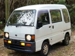 subaru minivan subaru sambar 4wd van mini truck low miles for sale