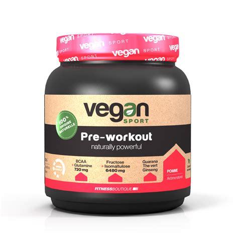 pre allenamento vegan sport pre workout naturally