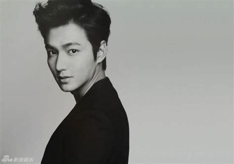 black ho guy candy lee min ho in black and white
