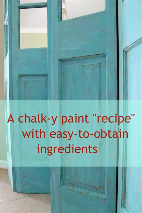 diy chalk paint with acrylic chalk paint quot recipe quot with easy to obtain