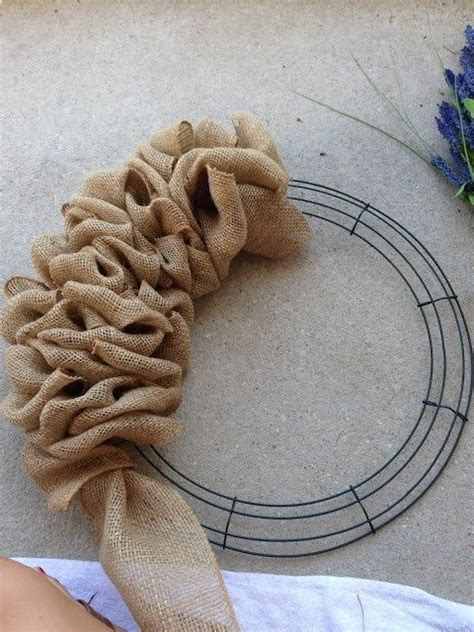 printable instructions to make a burlap wreath 1000 ideas about classroom wreath on pinterest school