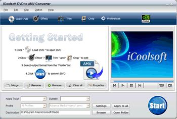 format video amv icoolsoft dvd to amv converter convert dvd to amv mtv video