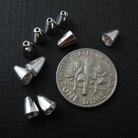 jewelry findings wholesale sterling silver cone bead cap wholesale