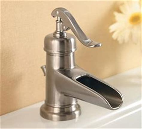 country style kitchen faucets new ashfield waterfall faucet from price pfister vintage