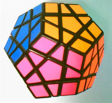 Origami Rubiks Cube - dodecahedron thinglink