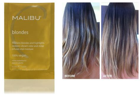 malibu hair treatment for rust amazoncom malibu c cpr color pigment reducer 3 packets of