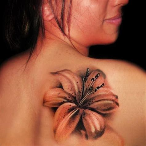 realistic flower tattoo 14 amazing designs with pictures styles at