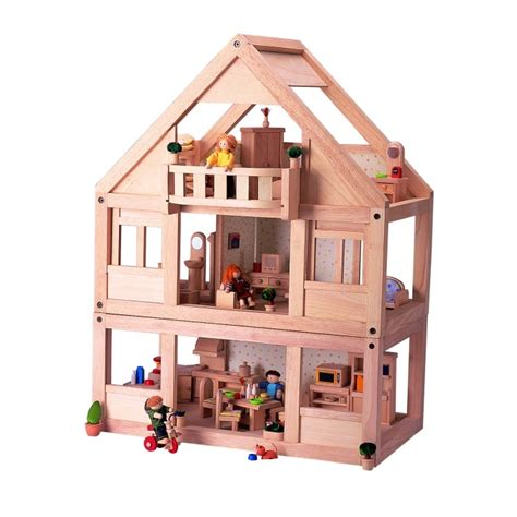 pin toys dolls house plan toys my first dolls house doll house and things pinterest