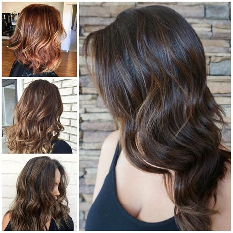 highlights for front sides only for dark brown hair what is balayage mypelham