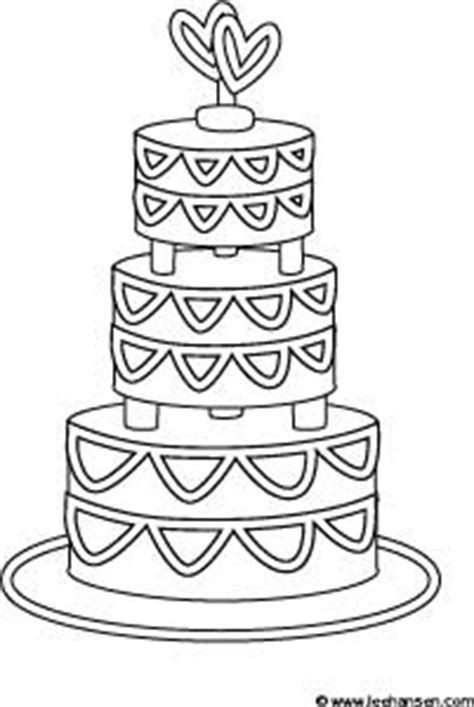 coloring pages to decorate wedding cake coloring pages