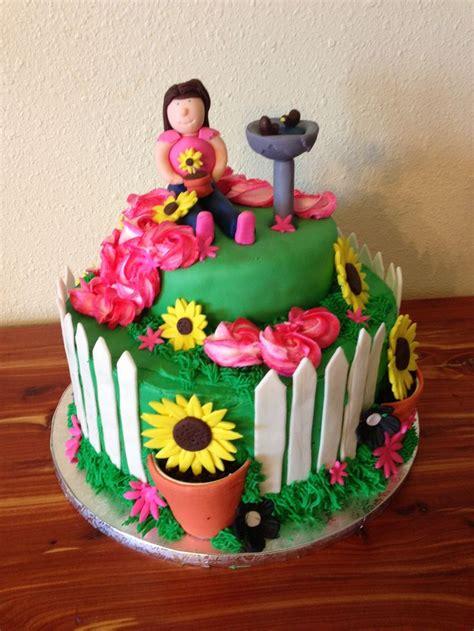 Flower Garden Cake Ideas 67392 Flower Garden Cake Cakes I Flower Garden Cake Ideas