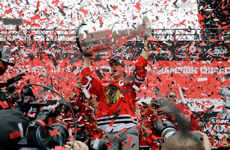 stanley chicago the confetti ends blackhawks stanley cup rally