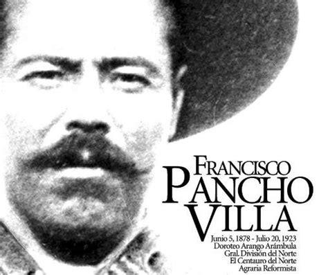 en la revolucion mexicana pancho villa pancho villa caudillo de la revoluci 243 n mexicana vidas