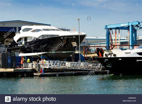 boat manufacturers england dry dock shelter stock photos dry dock shelter stock