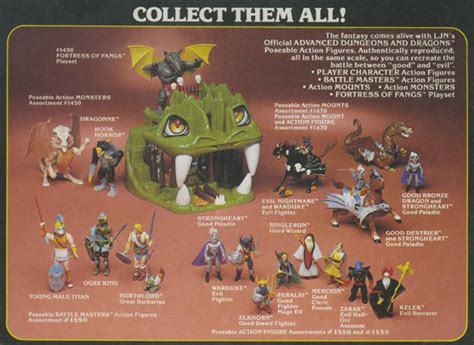 d d figures toys sta advanced dungeons dragons figures 1983 1984