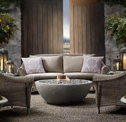 Concrete Outdoor Fireplace - outdoor fireplace from restoration hardware