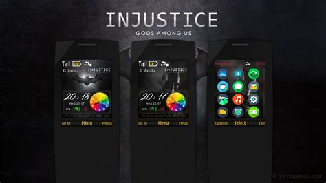 god themes nokia injustice gods among us theme s40 240x320 asha 206
