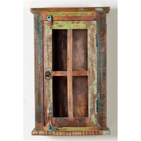 reclaimed wood wall cabinet bathroom  kitchen