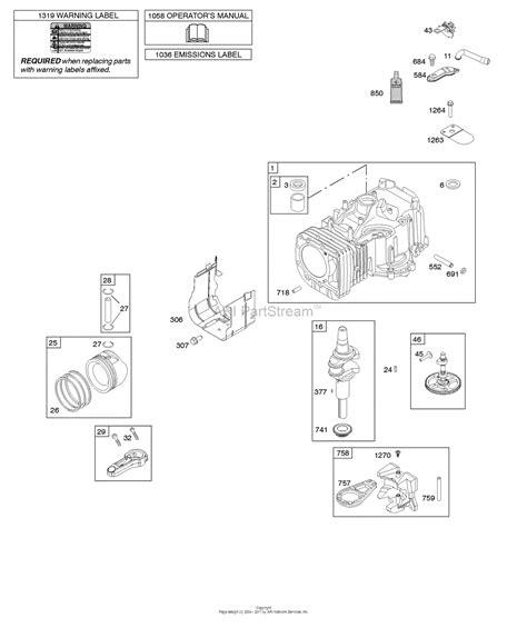 briggs carb diagram briggs stratton 10 5 carburetor diagram