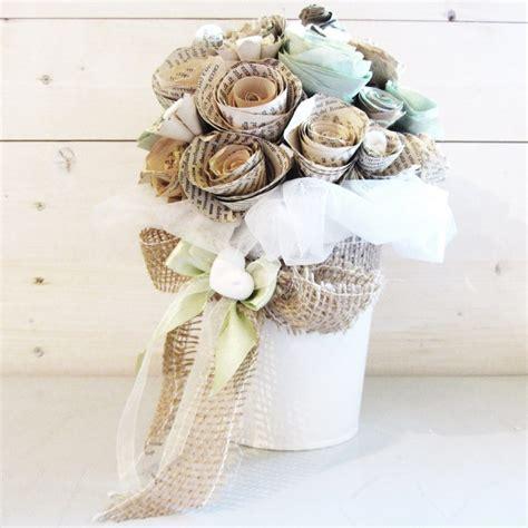 fiori in carta centrotavola fiori di carta per matrimonio le tendenze
