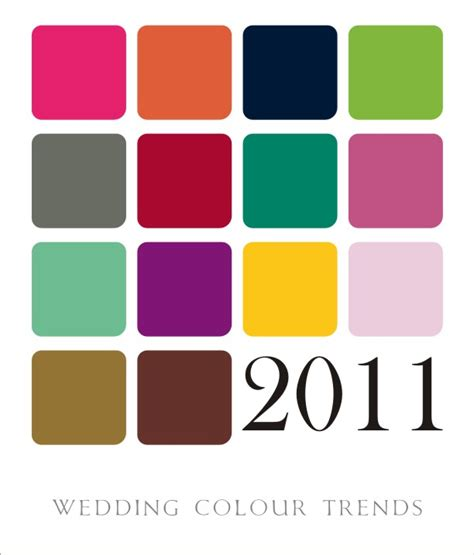 2011 colour trends jana louw wedding colour trends for 2011