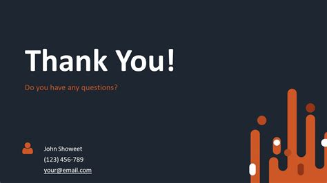 Thank You Themes For Ppt | retro free powerpoint template