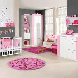 bedroom princess baby nursery room in a