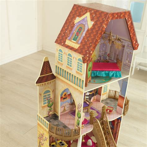 enchanted doll house amazon com kidkraft belle enchanted dollhouse toys games