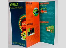 18 Beautiful Examples of Pamphlet & Leaflet Designs ... Kerala Tourism Brochure